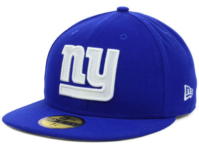 New York Giants NFL 2012 On Field 59FIFTY Cap Hats