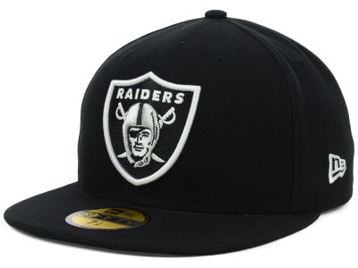Oakland Raiders NFL 2012 On Field 59FIFTY Cap Hats