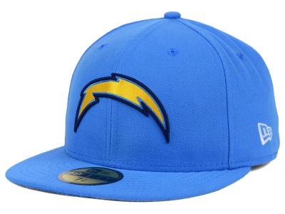 San Diego Chargers NFL 2012 On Field 59FIFTY Cap Hats