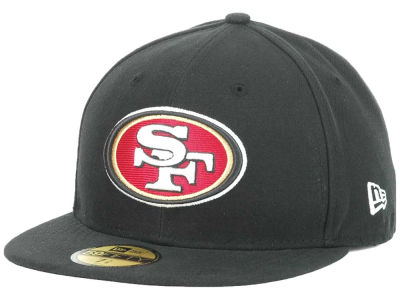 San Francisco 49ers NFL 2012 On Field 59FIFTY Cap Hats