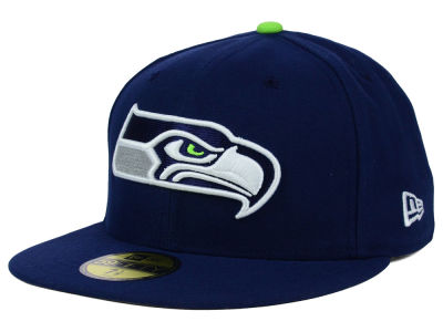 Seattle Seahawks NFL 2012 On Field 59FIFTY Cap Hats