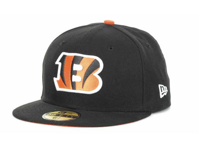 Cincinnati Bengals NFL Official On Field 59FIFTY Cap Hats