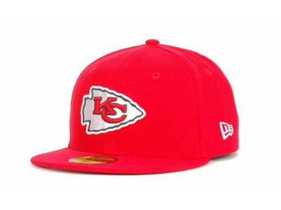 Kansas City Chiefs NFL 2012 Kids On Field 59FIFTY Cap Hats