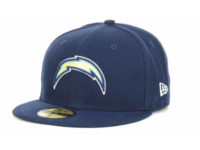 San Diego Chargers NFL Official On Field 59FIFTY Cap Hats