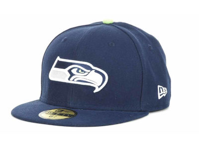 Seattle Seahawks NFL Official On Field 59FIFTY Cap Hats