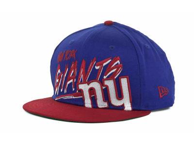 New York Giants New Era NFL Word Scribbs 9FIFTY Snapback Cap  820a307ed3a