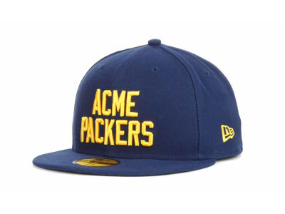 Green Bay Packers NFL Youth Custom Basic 59FIFTY Cap Hats