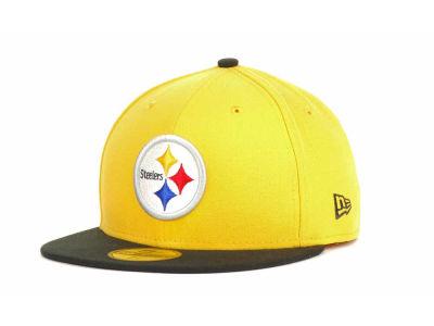 bebdb2be7e7 Pittsburgh Steelers New Era NFL 2012 Kids Classics 59FIFTY Cap ...