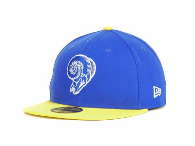 Los Angeles Rams NFL Official On Field 59FIFTY Cap Hats