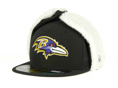 Baltimore Ravens NFL On Field Dog Ear 59FIFTY Cap Hats