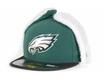 Philadelphia Eagles NFL On Field Dog Ear 59FIFTY Cap Hats