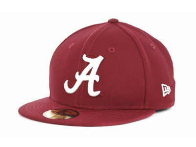 Alabama Crimson Tide NCAA AC Stock 59FIFTY Cap Hats