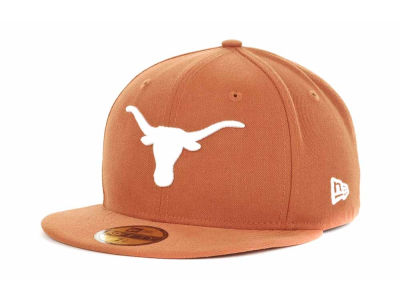Texas Longhorns NCAA AC Stock 59FIFTY Cap Hats