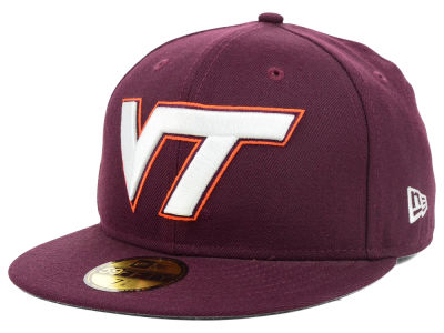Virginia Tech Hokies NCAA AC Stock 59FIFTY Cap Hats