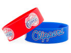Los Angeles Clippers Aminco Inc. 2-pack Wide Bracelet Apparel & Accessories