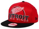 Detroit Red Wings New Era NHL Big Deluxe 9FIFTY Snapback Adjustable Hats