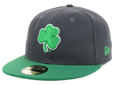 Notre Dame Fighting Irish NCAA 2 Tone Graphite and Team Color 59FIFTY Cap Hats