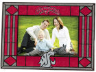 Washington State Cougars Art Glass Picture Frame Bed & Bath
