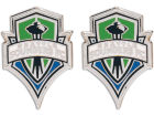 Seattle Sounders FC Wincraft MLS Post Earrings Jewelry