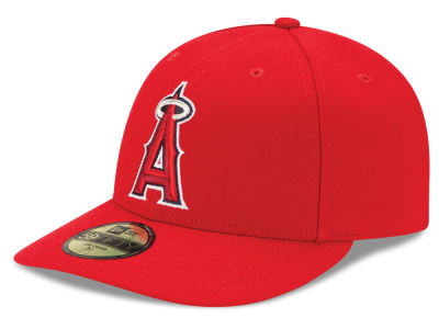 Los Angeles Angels MLB Low Profile AC Performance 59FIFTY Cap Hats