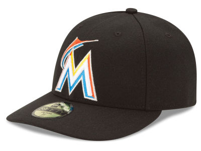 Miami Marlins MLB Low Profile AC Performance 59FIFTY Cap Hats