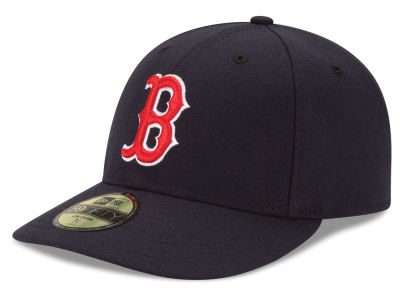 Boston Red Sox MLB Low Profile AC Performance 59FIFTY Cap Hats