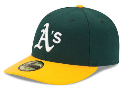 Oakland Athletics MLB Low Profile AC Performance 59FIFTY Cap Hats