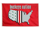 Ohio State Buckeyes 3x5 Durawave Flag Flags & Banners