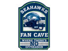 Seattle Seahawks Wincraft 11x17 Wood Sign Kitchen & Bar