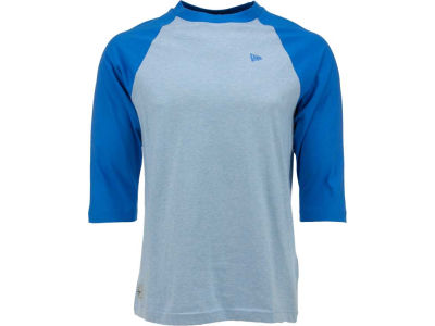 New Era Branded Men's 3/4 Sleeve Baseball T-Shirt