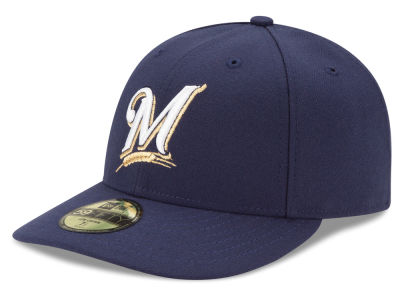 Milwaukee Brewers MLB Low Profile AC Performance 59FIFTY Cap Hats