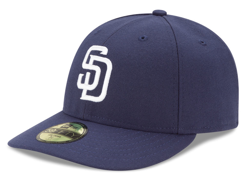 c1471dd3694 85%OFF San Diego Padres New Era MLB Low Profile AC Performance 59FIFTY Cap