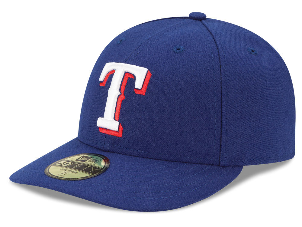 9ce7754831c on sale Texas Rangers New Era MLB Low Profile AC Performance 59FIFTY ...