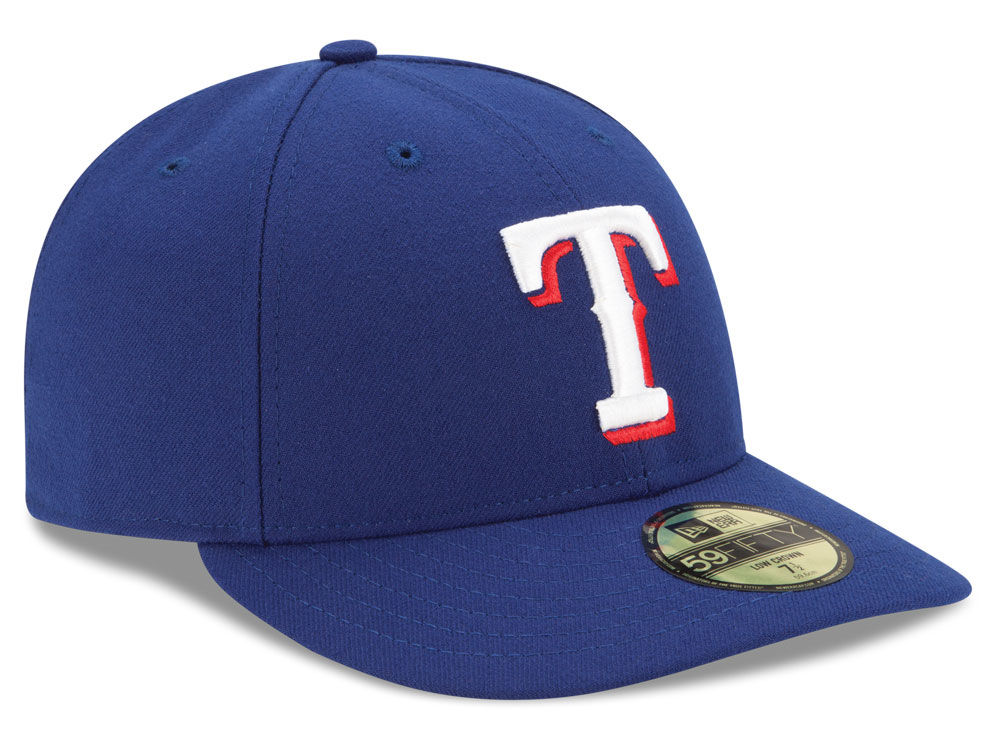 8852a658a95 ... wholesale on sale texas rangers new era mlb low profile ac performance  59fifty cap ed2c9 c2905
