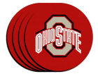 Ohio State Buckeyes 4-pack Neoprene Coaster Set Kitchen & Bar