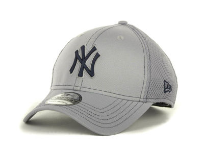 New York Yankees MLB Gray Neo 39THIRTY Cap Hats