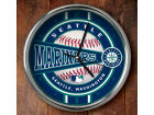 Seattle Mariners Chrome Clock Bed & Bath