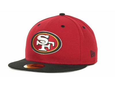 San Francisco 49ers NFL 2 Tone 59FIFTY Cap Hats