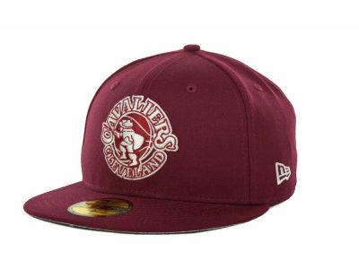 43ffa6365f2 Cleveland Cavaliers New Era NBA Hardwood Classics League Basic 59FIFTY Cap