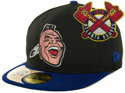 Atlanta Braves New Era Mlb Cooperstown Patch 59fifty Cap