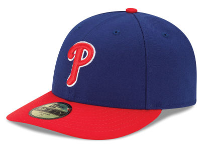 Philadelphia Phillies MLB Low Profile AC Performance 59FIFTY Cap Hats