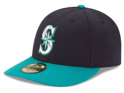Seattle Mariners MLB Low Profile AC Performance 59FIFTY Cap Hats