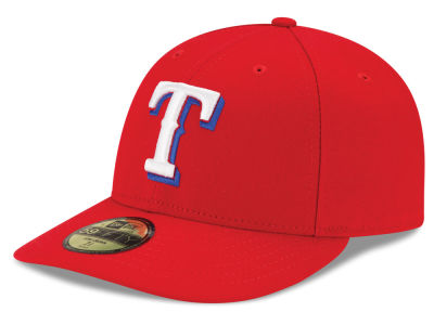 Texas Rangers MLB Low Profile AC Performance 59FIFTY Cap Hats