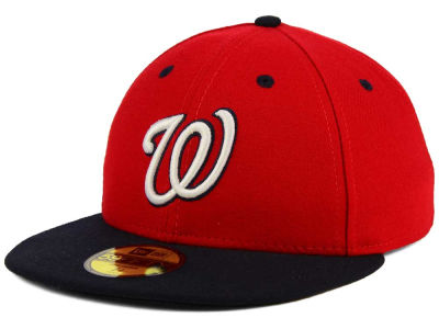 Washington Nationals MLB Low Profile AC Performance 59FIFTY Cap Hats