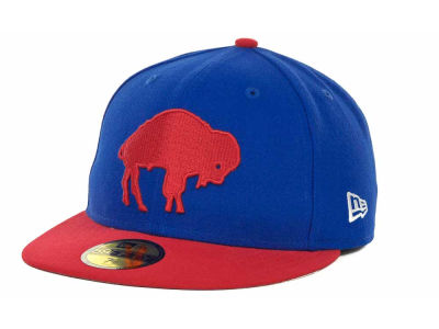 Buffalo Bills NFL Historic Basic 59FIFTY Cap Hats
