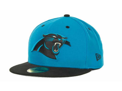 Carolina Panthers NFL 2 Tone 59FIFTY Cap Hats