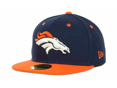 Denver Broncos NFL 2 Tone 59FIFTY Cap Hats
