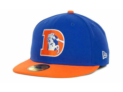 Denver Broncos NFL Historic Basic 59FIFTY Cap Hats