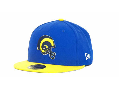 Los Angeles Rams NFL Historic Basic 59FIFTY Cap Hats