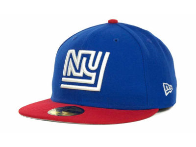 New York Giants NFL Historic Basic 59FIFTY Cap Hats